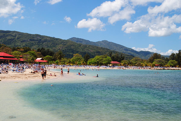 Privatstrand Labadee (Bild: Matthew Schurmann)