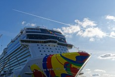 Norwegian Encore in Bremerhaven