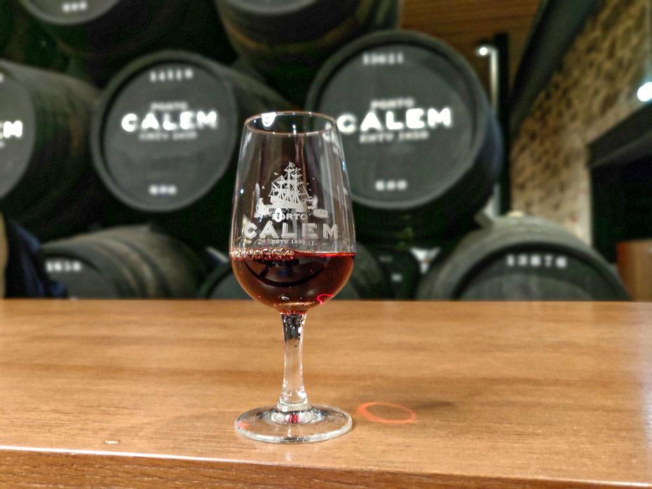 Portwein-Verkostung bei Calem