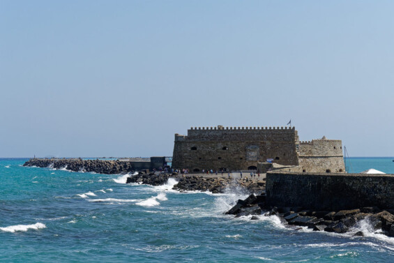 Hafenfestung Rocca a mare (Koules)